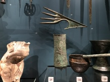 Luristan Bronze Axe Weapon (top), Iraq, 1250BC-1000BC