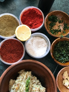 Spices for Eggplant Caviar