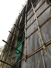 Traditional Bamboo Scaffolding is Still Used!