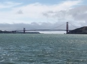 Golden Gate Bridge from Inside the SF Bay