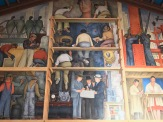 Diego Rivera Mural at the SF Art Institute