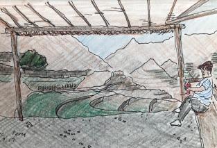 Terraces, Pisac, Peru