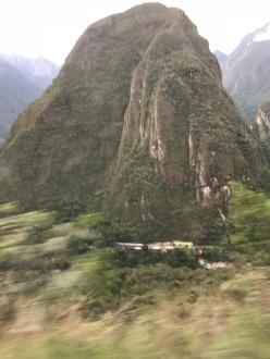 View from Rocky Bus Ride return to Ollaytaytambo
