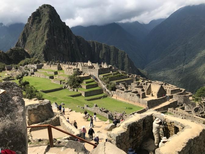 Day 5-6(a):  Macchu Picchu, Peru