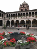 Courtyard of St. Dominic's