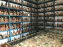 Warehoused Urns in Museum