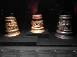 Gold, Copper and Silver Shaman Urns