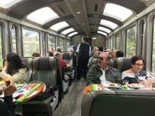 Vistadome Perurail Car
