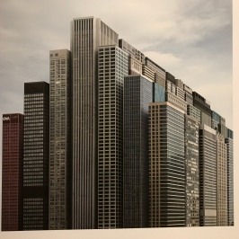Photo Montage of Chicago Skyscrapers