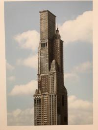 Photo Montage of Chicago Skyline