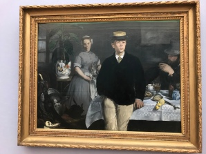 Manet, Fruhstuck in Atelier, 1868