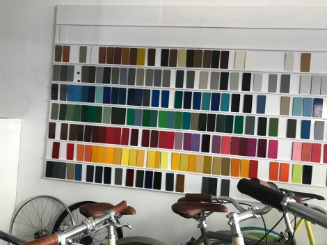 Custom Bike Color Chart