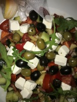 Garden Salad with Feta Cheese