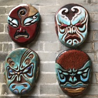 Ceramic Opera Masks